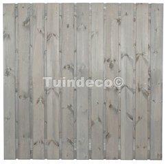 Tuinschermen zilvergrijs gedompeld grenen