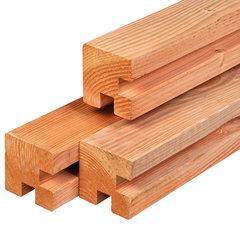 Lariks/douglas stapelbouw