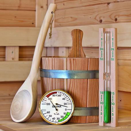 Sauna accessoires Set