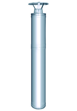 Afvoerpijp t.b.v Harvia M3 houtkachel (rookgasafvoer)