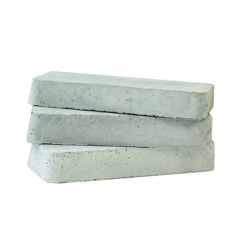 Opvulblokje wit/grijs 10cm
