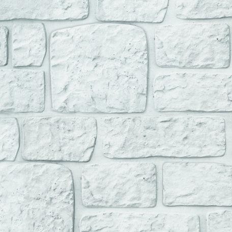 Motief systeem wit/grijs, betonplaat H26xD4.8xL184cm mini romeins motief
