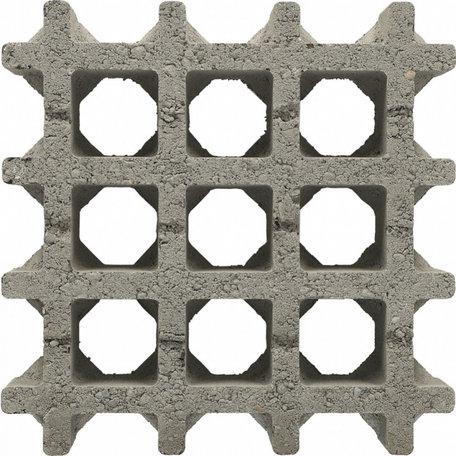 Aqua-draintegel Gris 30x30x8cm