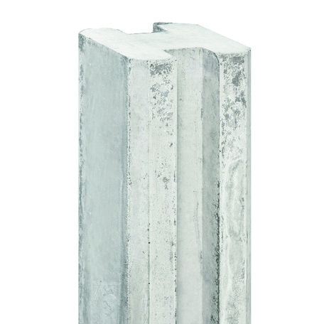 Betonpaal sluifpaal grijs, 11.5x11.5x316cm Tussenpaal