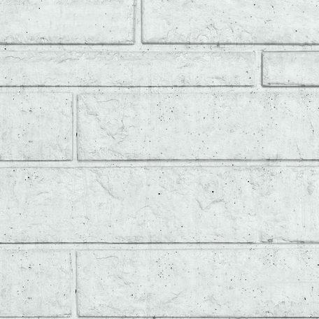 Rotsmotiefplaten grijs, H26xD4.8xL184cm