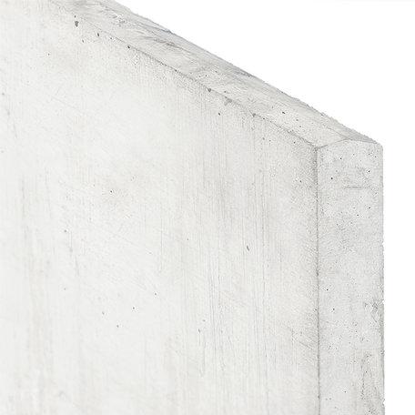 Stapelplaten grijs, H24xD3.5xL184cm