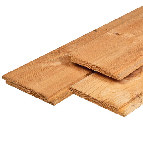 Douglas planken dubb lip profiel 1.8x19.0x275cm