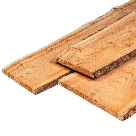 Douglas planken dubb lip profiel 1.8x19.0x300cm
