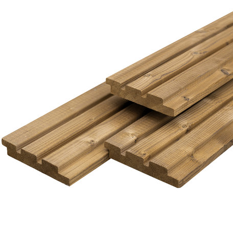 Steamed 5* Class wood triple profiel 2.6x14.0x450cm