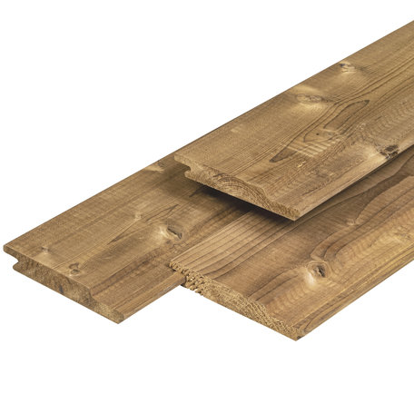 Steamed 5* Class wood overhangend rabat 1.8x14.1x300cm