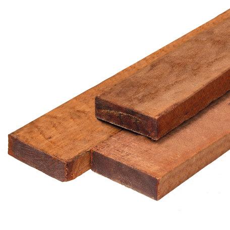 Hardhout fijnbezaagd timmerhout 4.0x9.0x300cm