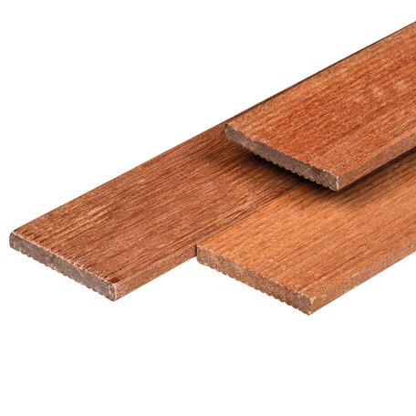 Hardhout geschaafd timmerhout 1.2x9.0x180cm