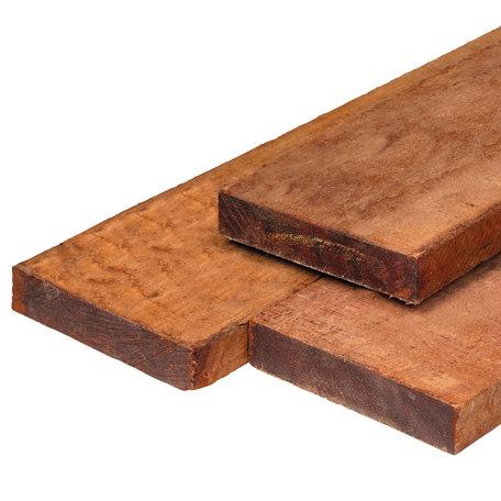 Hardhout fijnbezaagd timmerhout 4.0x20.0x400cm