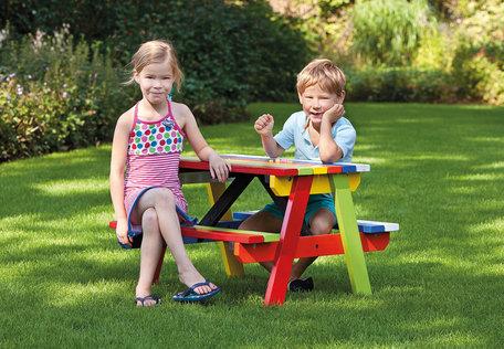 Kinderpicknicktafel hardhout