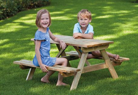 Kinderpicknicktafel geïmpregneerd grenen