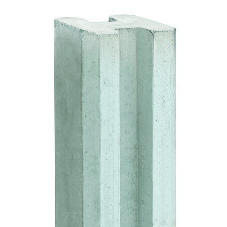 Berton©-sleufpaal Vecht wit/grijs tussenmodel 250