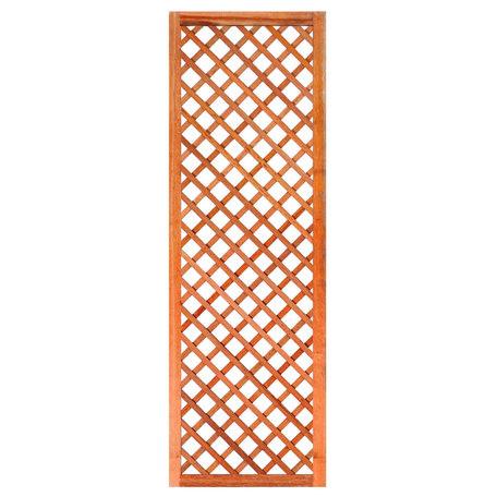 Trellis diagonaal met lijst hardhout 60cm