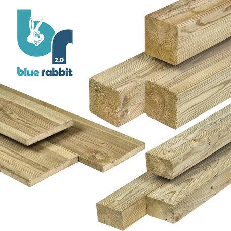 Blue Rabbit @Challenger houtpakket