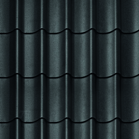 Dakpanprofielplaten mat zwart Edelweiss