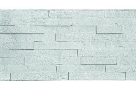 Berton© Leisteen motiefplaat smal wit/grijs 184