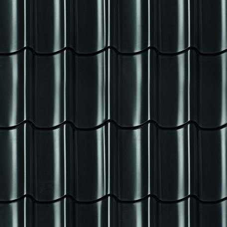 Dakpanprofielplaten zwart Edelweiss