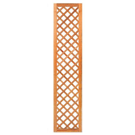 Trellis diagonaal met lijst hardhout 40cm