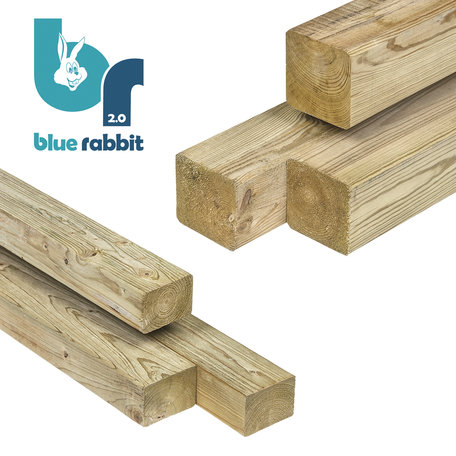 Blue Rabbit @Bridge houtpakket