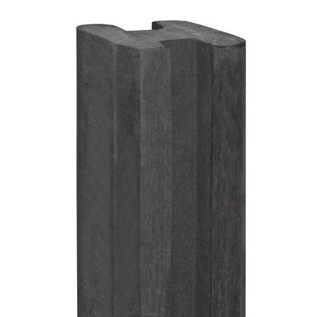 Berton©-sleufpaal antraciet eindmodel 250