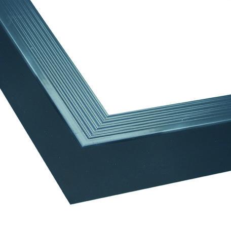 Aluminium daktrim buitenhoek antraciet