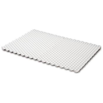 Grindmat Wit 115x80x3,8-2,5cm