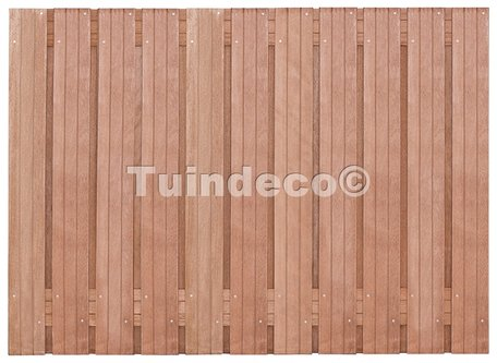 Tuinscherm Hoorn H130xB180cm