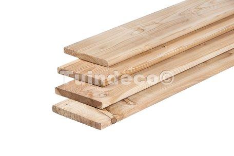 Lariks/douglas planken 1.6x14.0x500cm