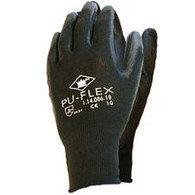 Handschoen PU-flex zwart mt XL