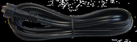 12 Volt verlengkabel SPT-2W - 1 meter