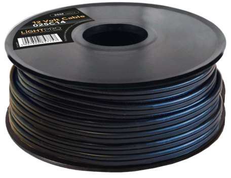 12 Volt kabel AWG14 - 200 meter