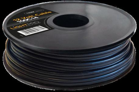 12 Volt kabel AWG14 - 100 meter