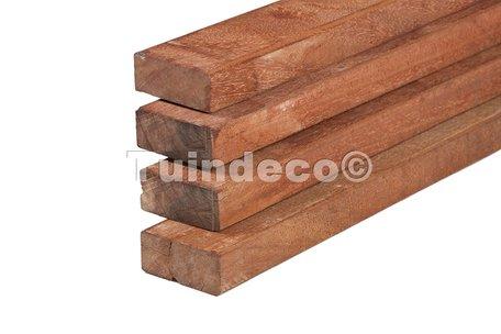 Hardhout fijnbezaagd timmerhout 4.0x20.0x300cm