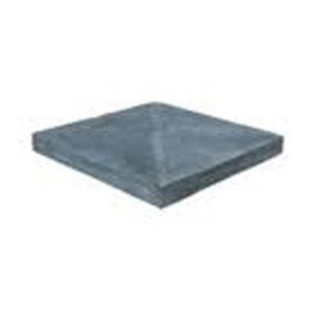 Basalt paaldak verzoet 55x55x4-6cm