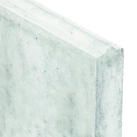 Betonplaat wit/grijs Stapelplaat H24xD3.5xL184cm