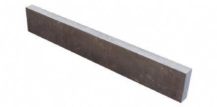 Chinees Hardsteen opsluitband Gevlamd-Geborsteld-Facet 100x20x6cm