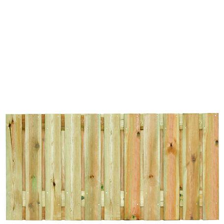 Tuinscherm 21 planks Zaltbommel 90x180cm