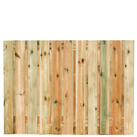 Tuinscherm 21 planks Zaltbommel 130x180cm