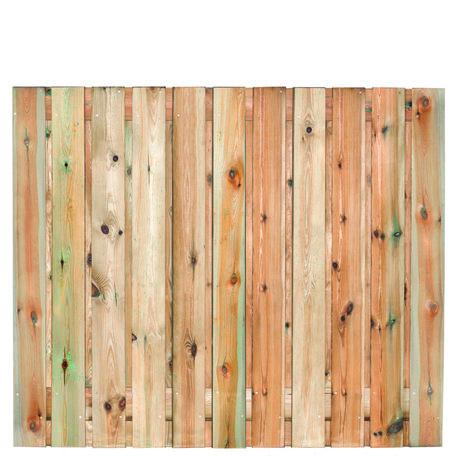 Tuinscherm 21 planks Zaltbommel 150x180cm