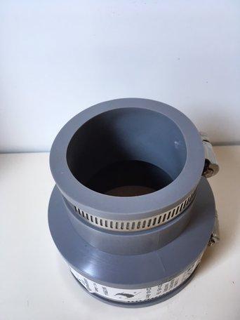 Fernco rubber verloop van 75x60mm