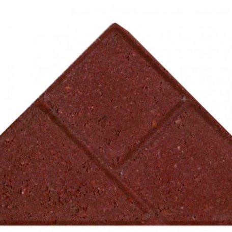 Bisschopsmuts BSS 8cm KOMO Rood met deklaag