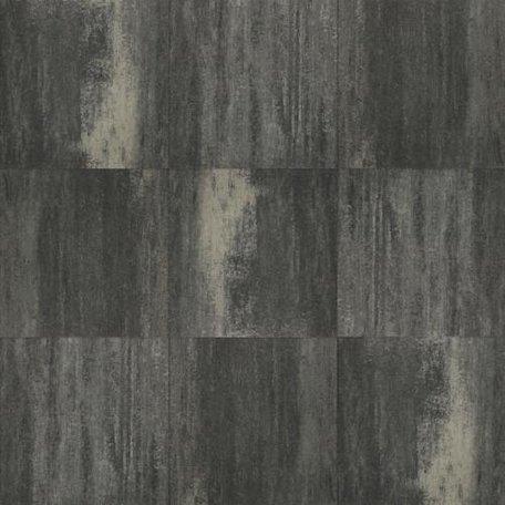 Terrastegel+ 60x60x4cm Zwart/grijs