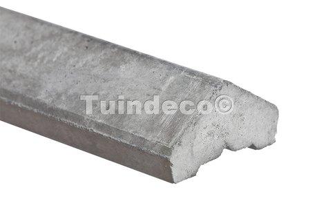Beton afdekkap wit/grijs 180cm
