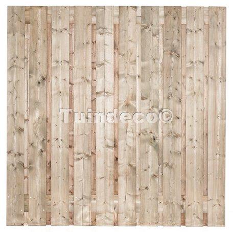 Tuinscherm 19 planks Dordrecht 180x180cm