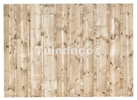 Tuinscherm 19 planks Dordrecht 130x180cm