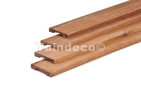 Afdeklat hardhout voor toogscherm 183cm